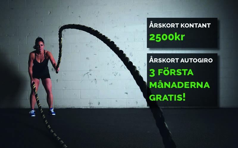 Höstdeal – Årskort kontant & Årskort autogiro!